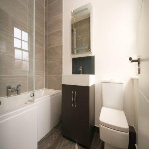 Installation de WC et de salle de bain